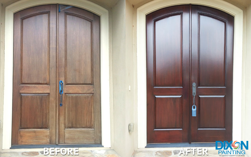 Transform Your Home Today! & Door Staining - Dixon Painting
