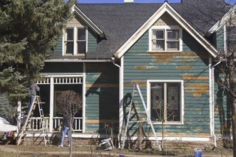 old home needing to be painted